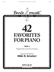 42 Favorites for Piano Book 3