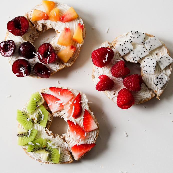Kid-Friendly Fruit Pizzas!