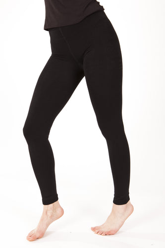 Plush fleece lined leggings - Lav and Kush