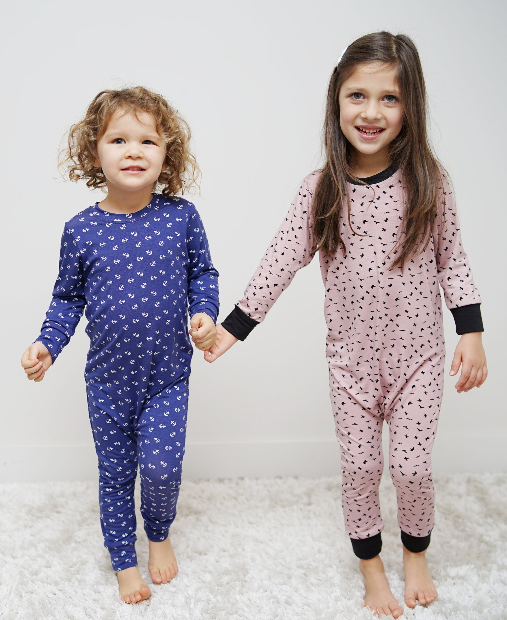 Kids Unisex Printed Bamboo Rompers - New for Holiday! – Lav and Kush 8ce50e937