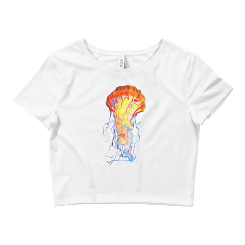 JELLY FISH JOINT Women's Crop Tee