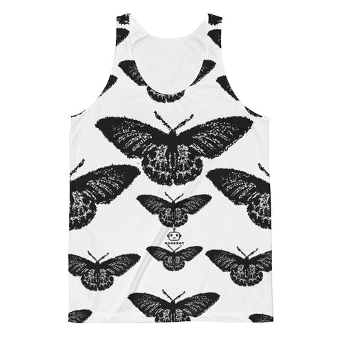 WOMANS BLACK BUTTERFLY! (Unisex) Classic Fit Tank