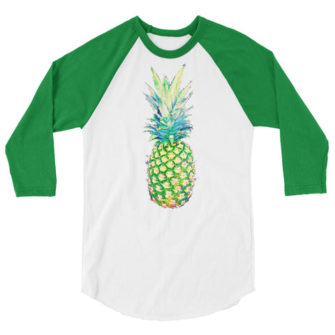 Pineapple Love Jersey 3/4 Sleeve Raglan