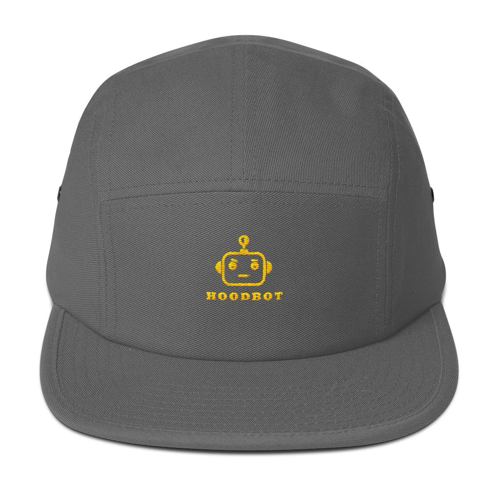 HOODBOT (Chill Yellow) Five Panel Cap