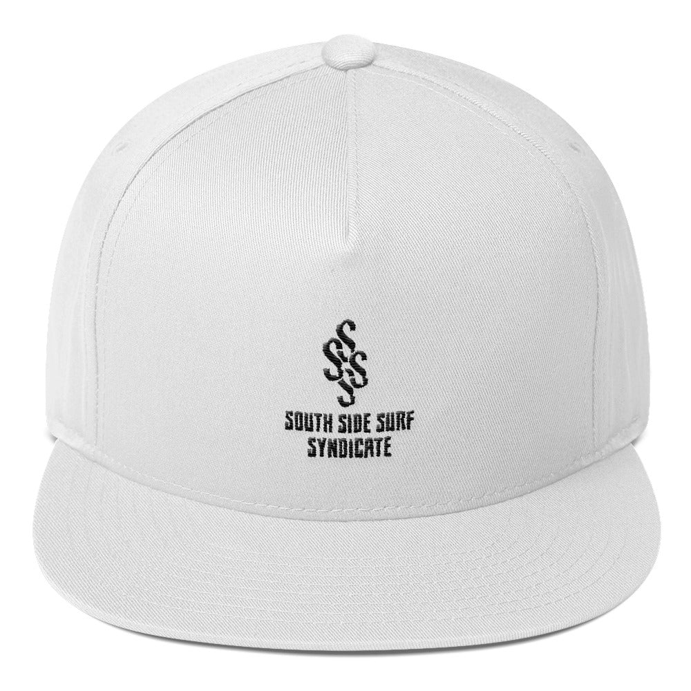 South Side Surf Syndicate Official Flat Bill Cap