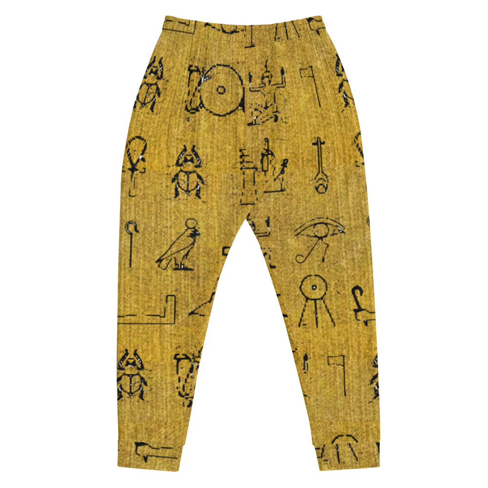 Hieroglyph Yellow Men's Joggers