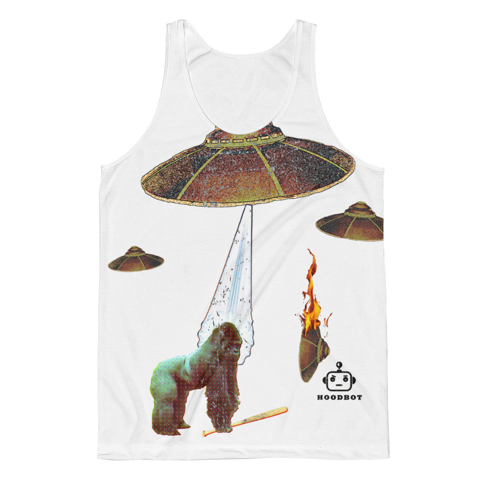 UFOS APES AND BATS! (XX#0001)Unisex Classic Fit Tank Top