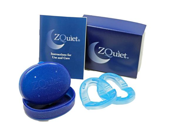 ZQuiet® Anti Snoring Device - 2 Size Starter Pack. It Works!