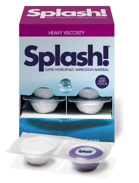 Splash! Putty Paks Half-Time Set (2:45) - Go! Dental (Aust) Pty Ltd