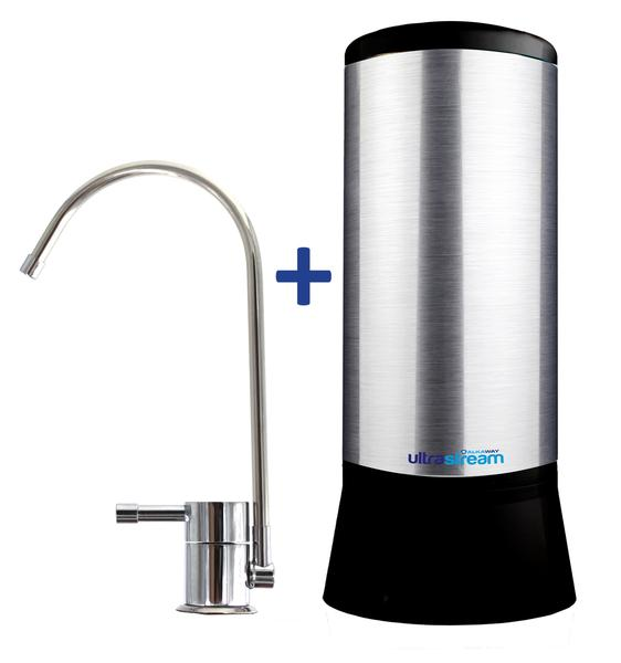 UltraStream Undersink – Hydrogen Rich Water Ioniser - With Extra Fluoride Removal Filter