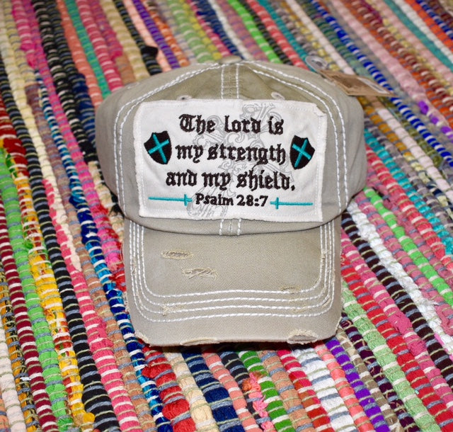 The Lord is my strength Baseball Hat