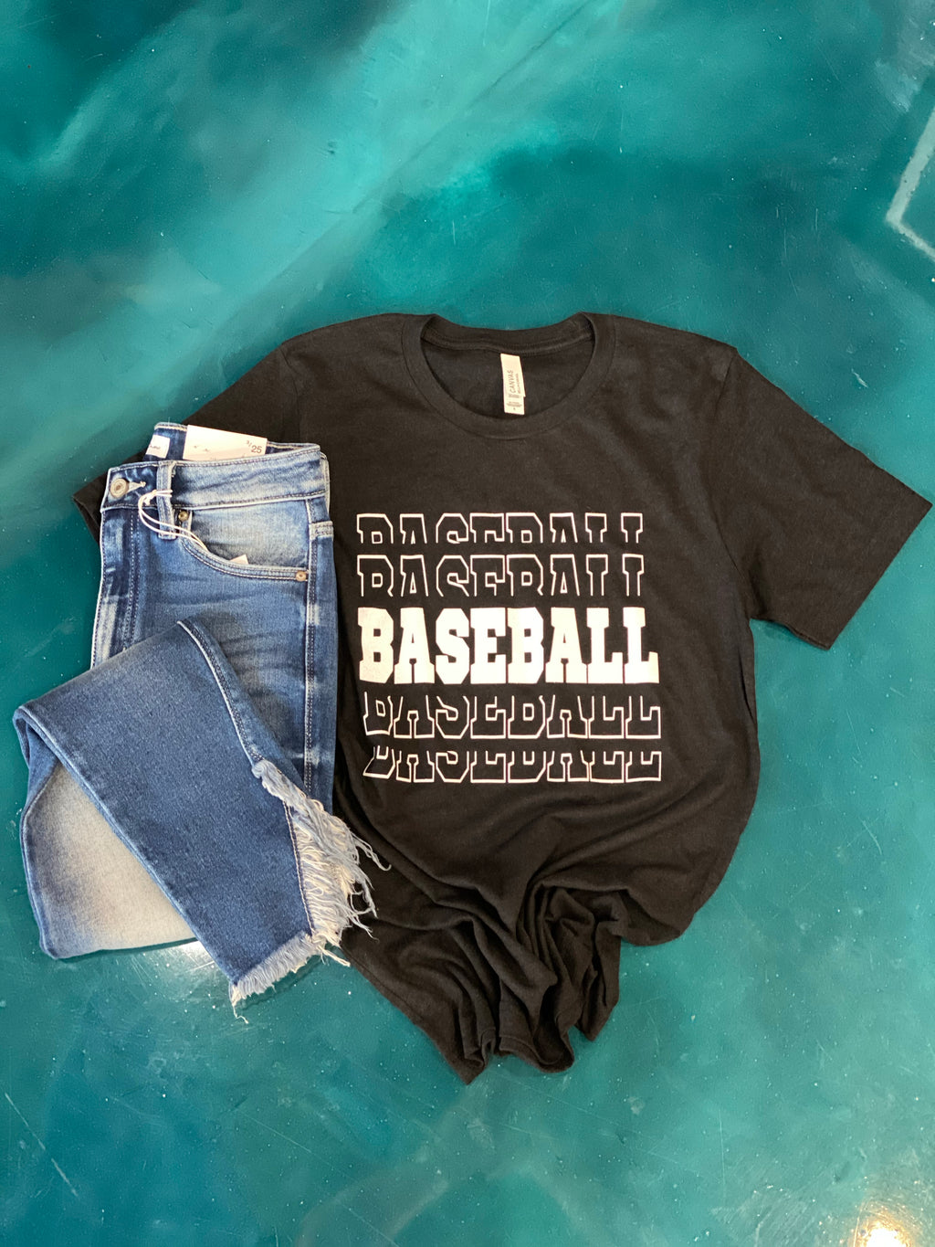 Baseball obsessed tee (other colors)