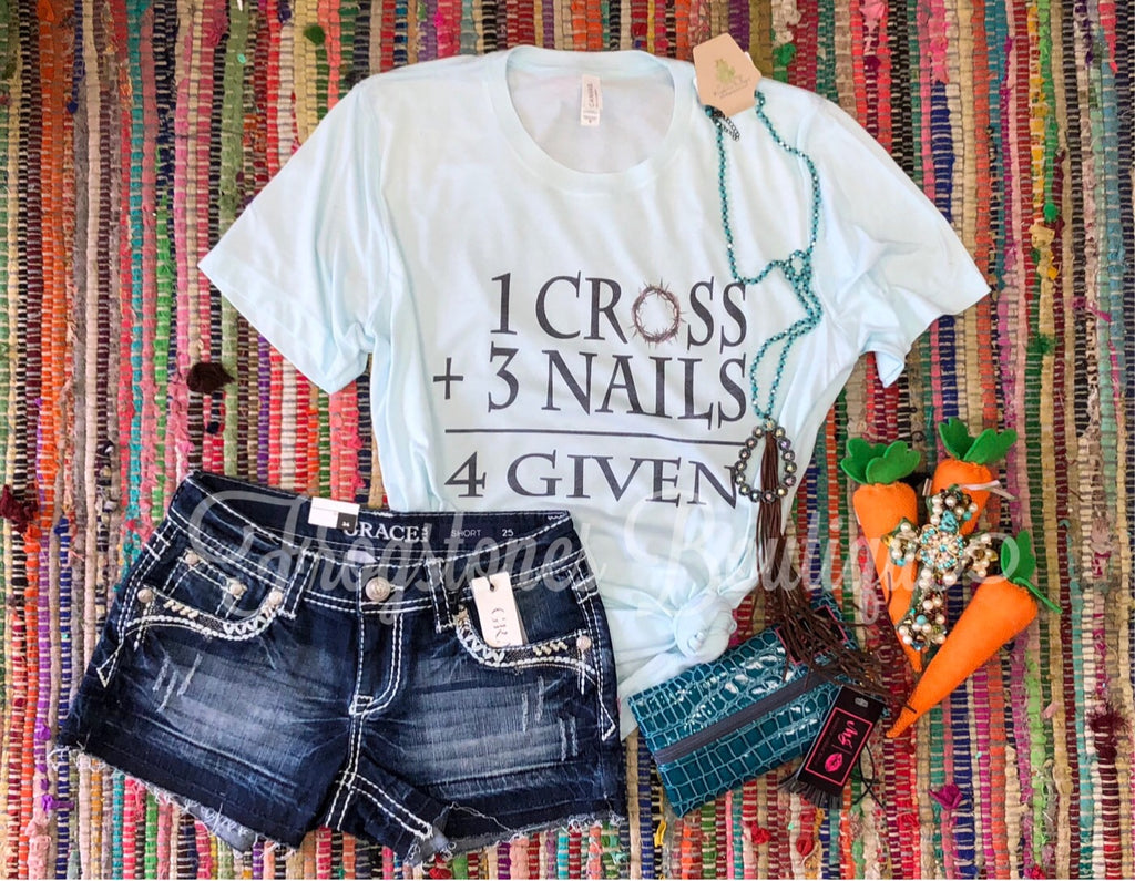 1 Cross 3 Nails T-shirt