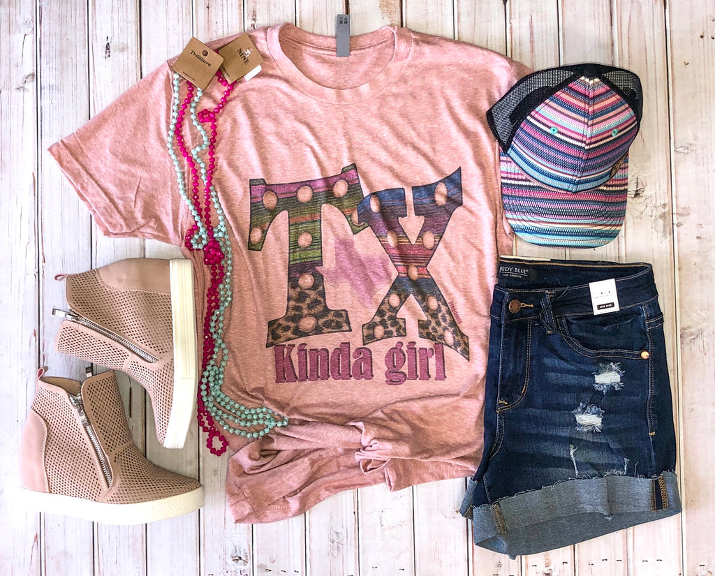 Vintage TX Kinda girl tee