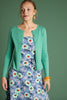 Cardi Roundneck Cocoon in Opal Green von King Louie
