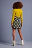 Cardi Roundneck Cocoon Spring Yellow