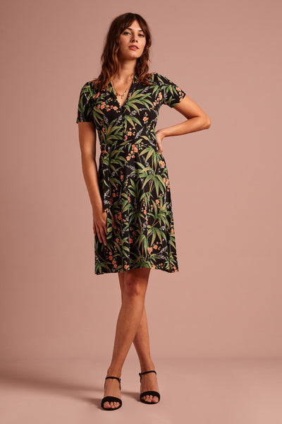 Emmy Dress Tahiti von King Louie Black