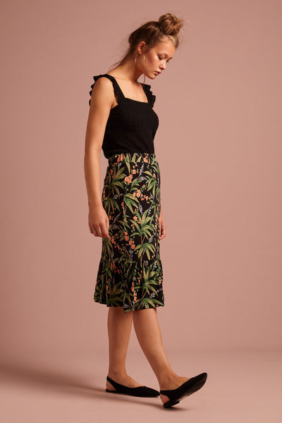 Esme Skirt  Tahiti von King Louie Black