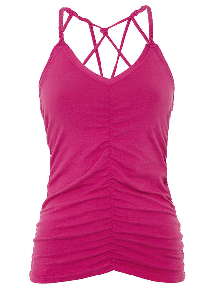 Cable Yoga Top von Mandala in Pink