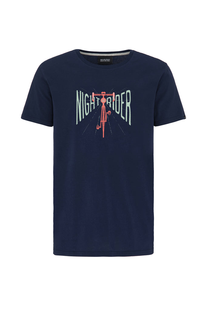 Basic T-Shirt #NIGHTRIDER von recolution