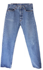 Levis High Waisted In Blue