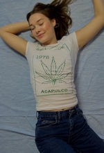 1978 Green Thumb Graphic Babydoll Tee