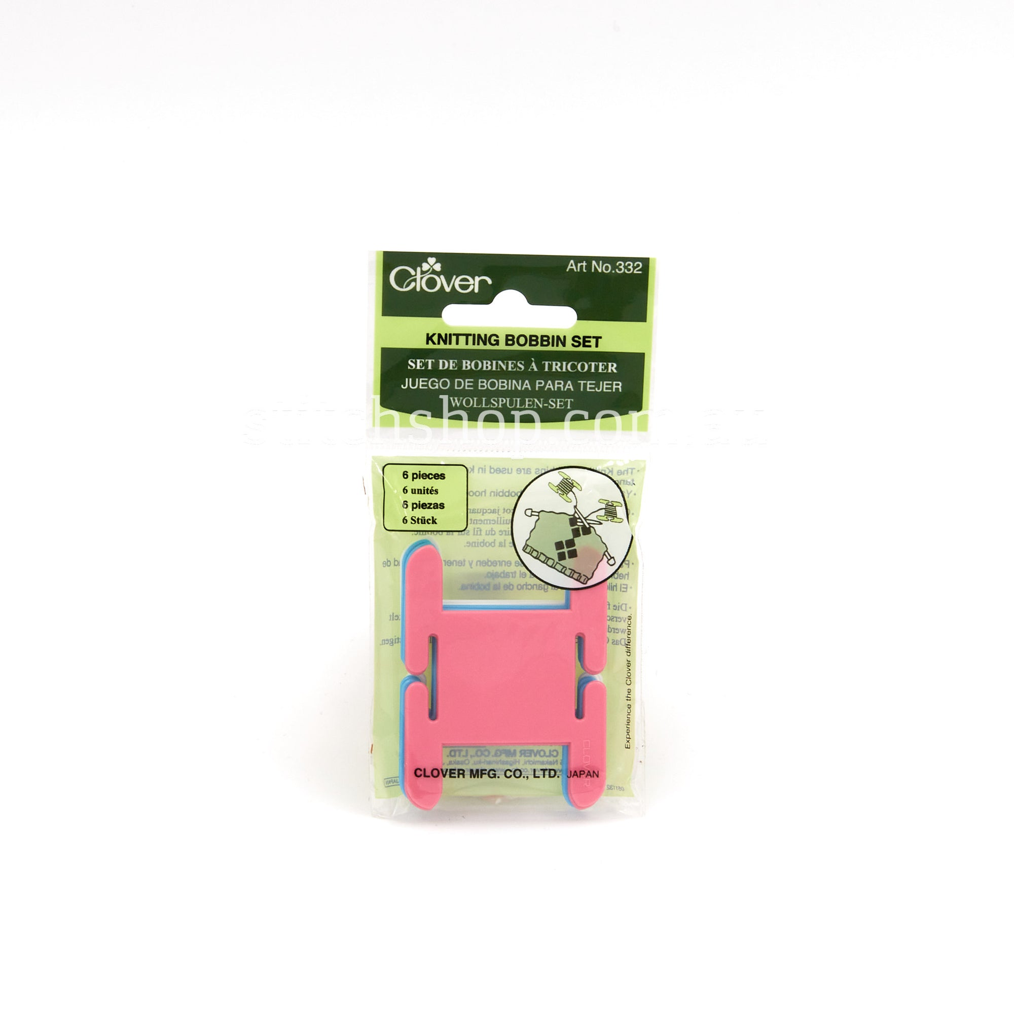 Clover Knitting Bobbin Set - Default Title (051221355813)