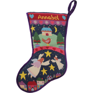 Angels Christmas Stocking