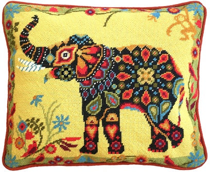 Painted Elephant Tapestry