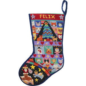 Cats & Dogs Christmas Stocking