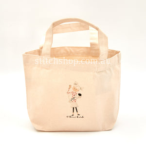 Shinzi Katoh Project Bag - Spotty Dog with Girl (4970212573745)