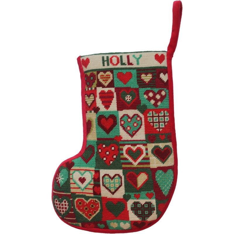 Evergreen Christmas Stocking