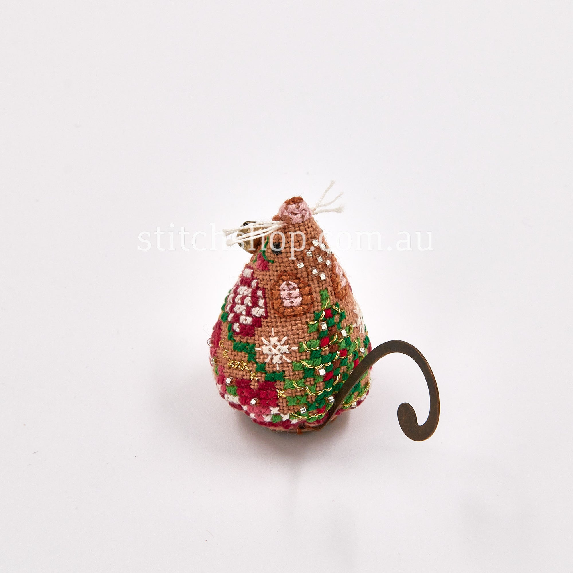Gingerbread Jingle Mouse with Linen - Default Title (712214013218L)