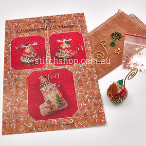 Gingerbread Elf Mouse with Linen