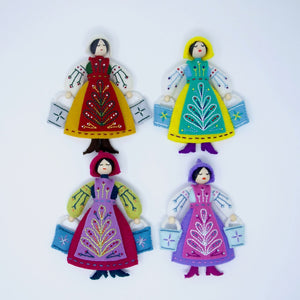 Twelve Days Ornaments *Postal* Stitch-a-Long (Deposit)