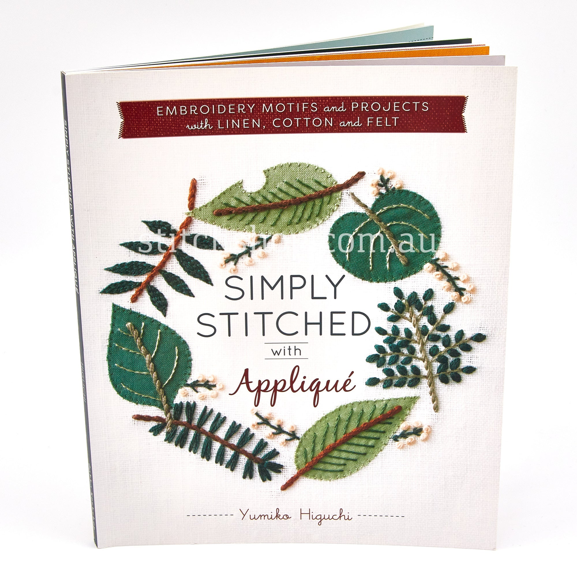 Simply Stitched with Applique by Yumiko Higuchi - Default Title (9781940552323)