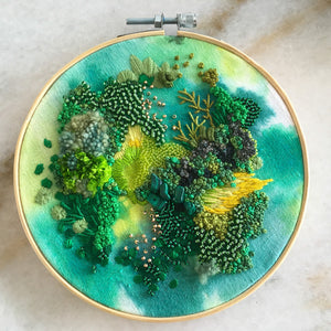 Moss Embroidery Workshop (deposit)