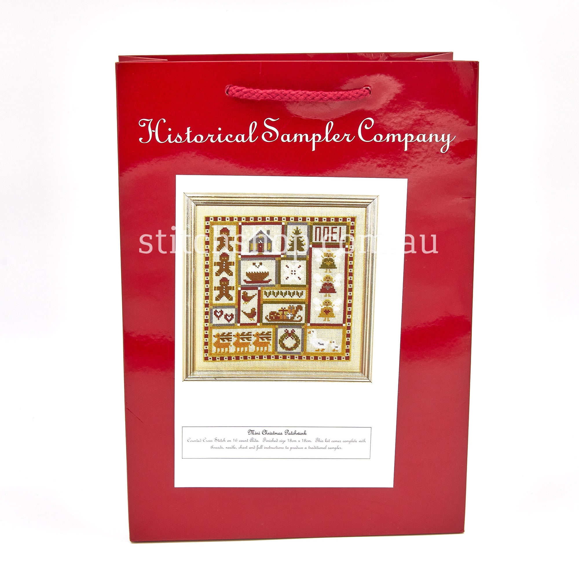 Christmas Patchwork (16ct AIDA) - Default Title (HSCCPA)