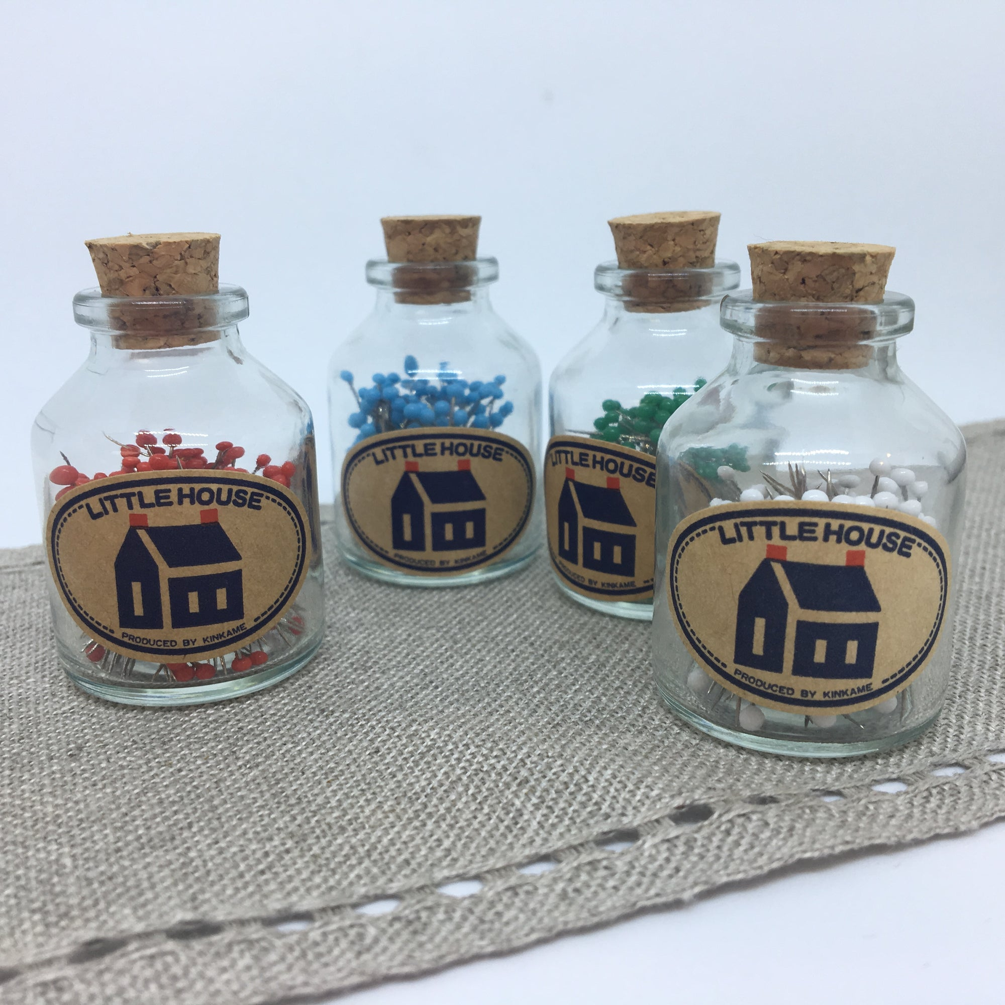 Little House Pin Bottle