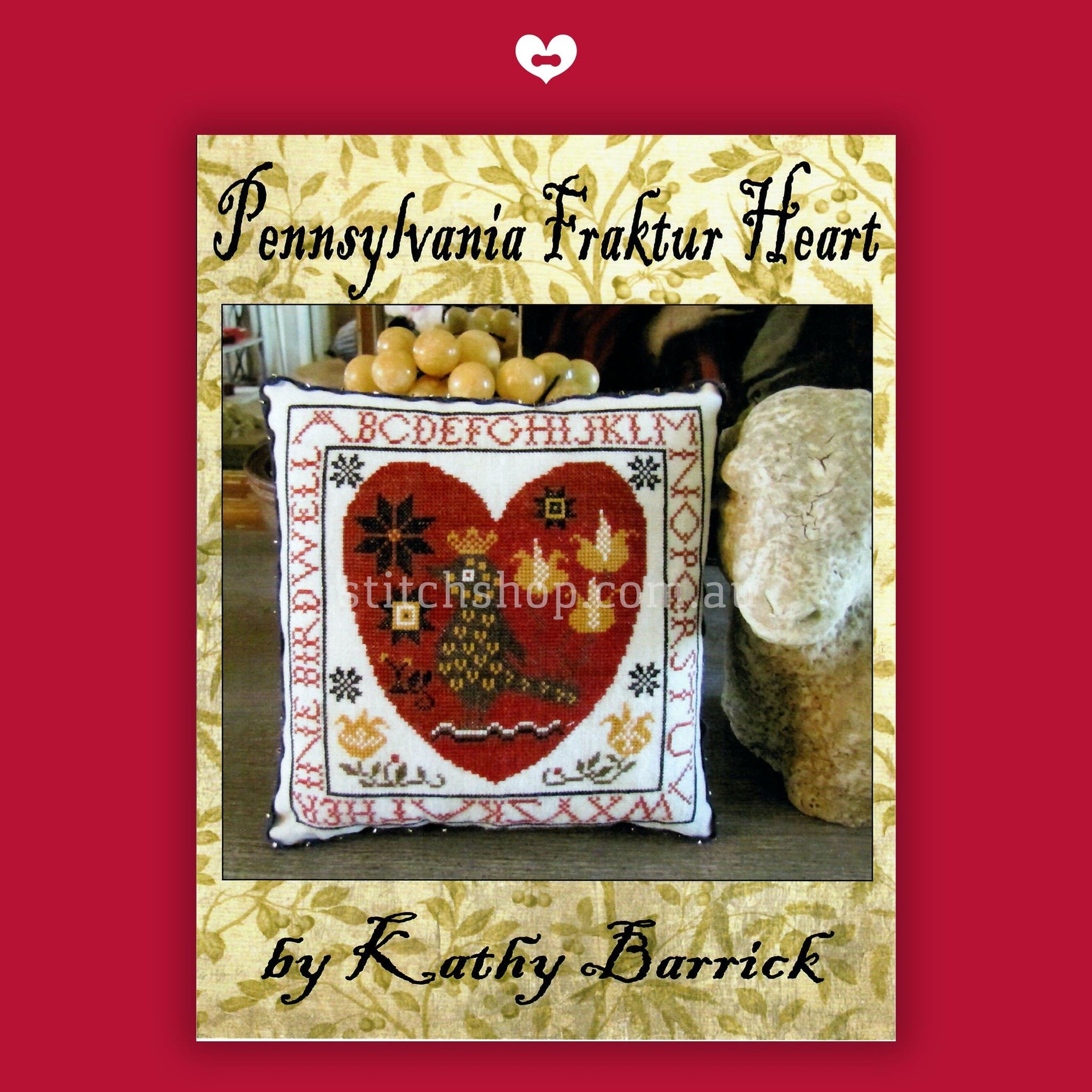 Pennsylvania Fraktur Heart