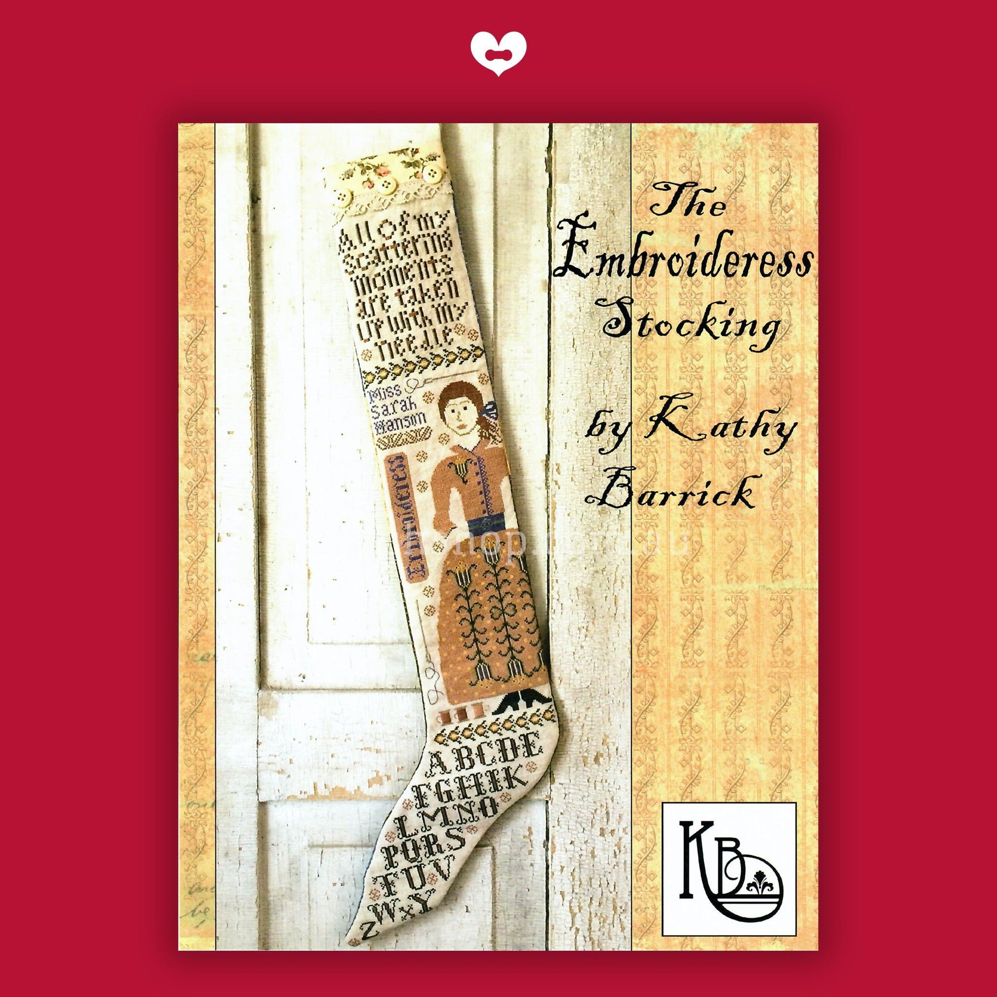 The Embroideress Stocking