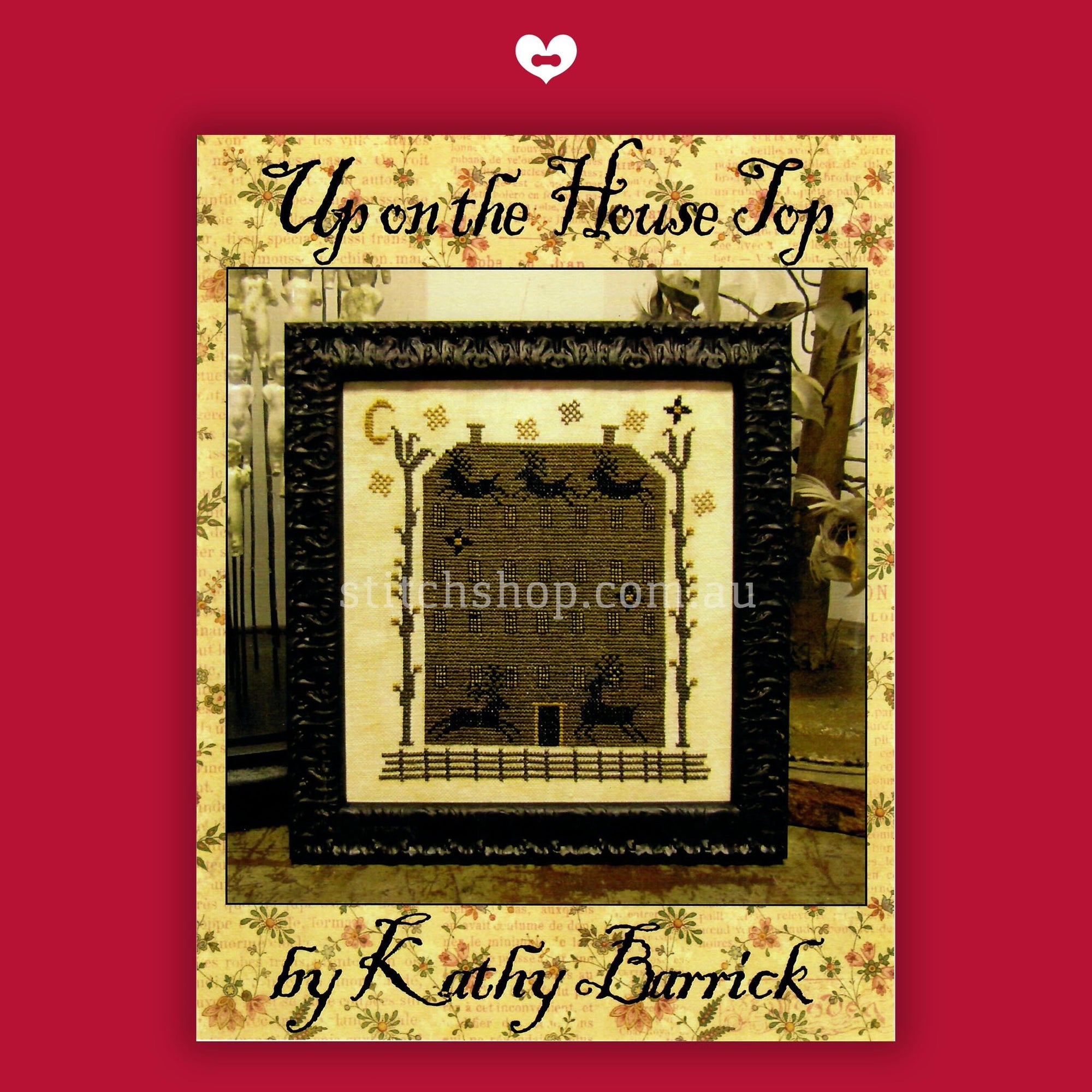 Up on the House Top by Kathy Barrick