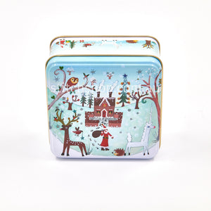 Winter Wonderland Medium Square Tin - Default Title (LL2837)