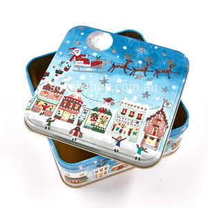 Winter wonderland Large Square Tin - Default Title (LL2944)