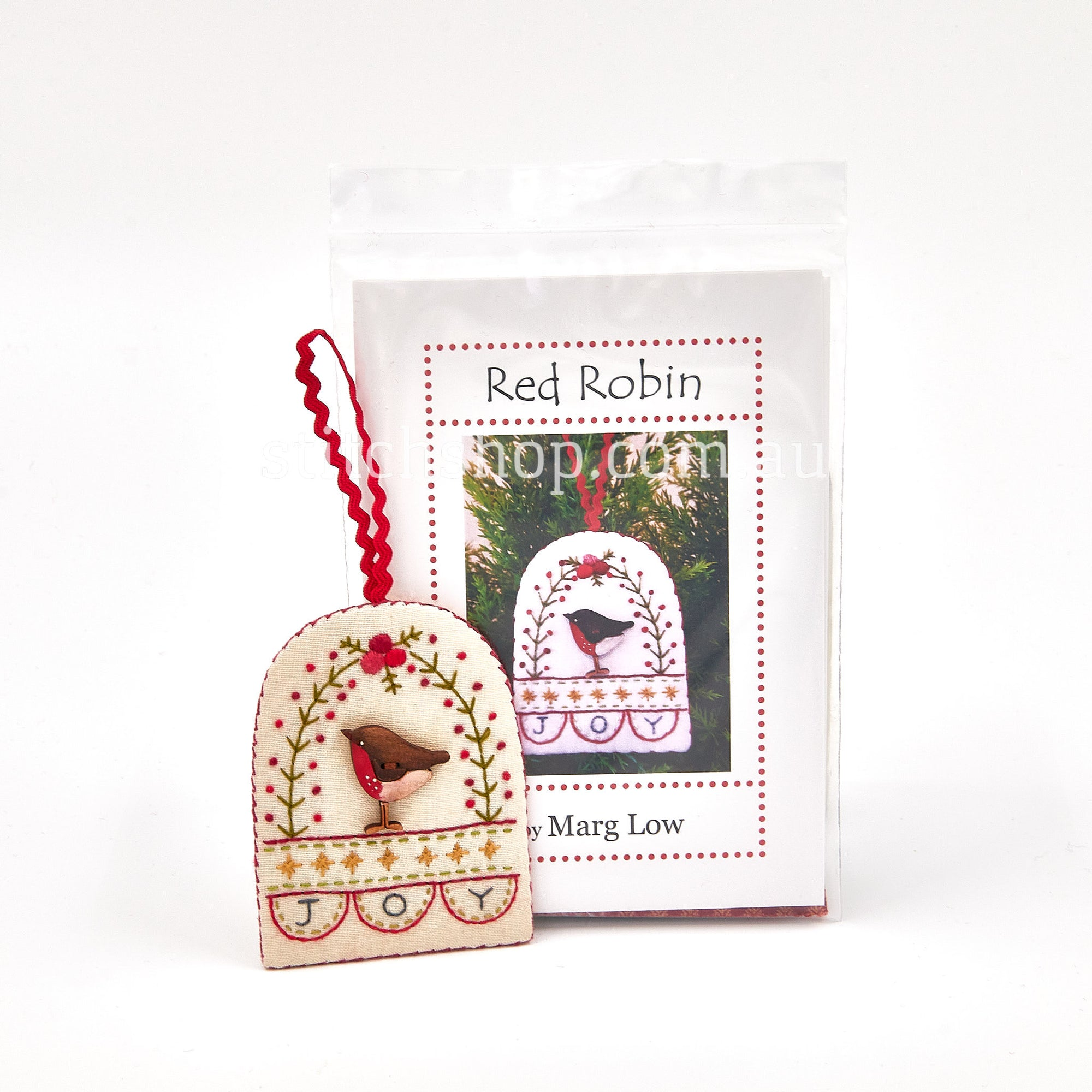 Red Robin Kit with Theodora Cleave Button - Default Title (MLDRobinKit)