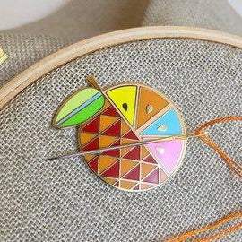 Orange Needle Minder by Satsuma Street