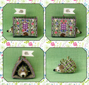 Heather's Hedgehog House with Linen