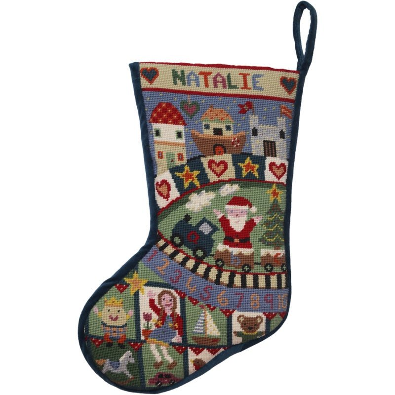 Toy Box Christmas Stocking