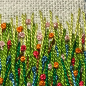 Saturday Crafternoon: Floral Landscape