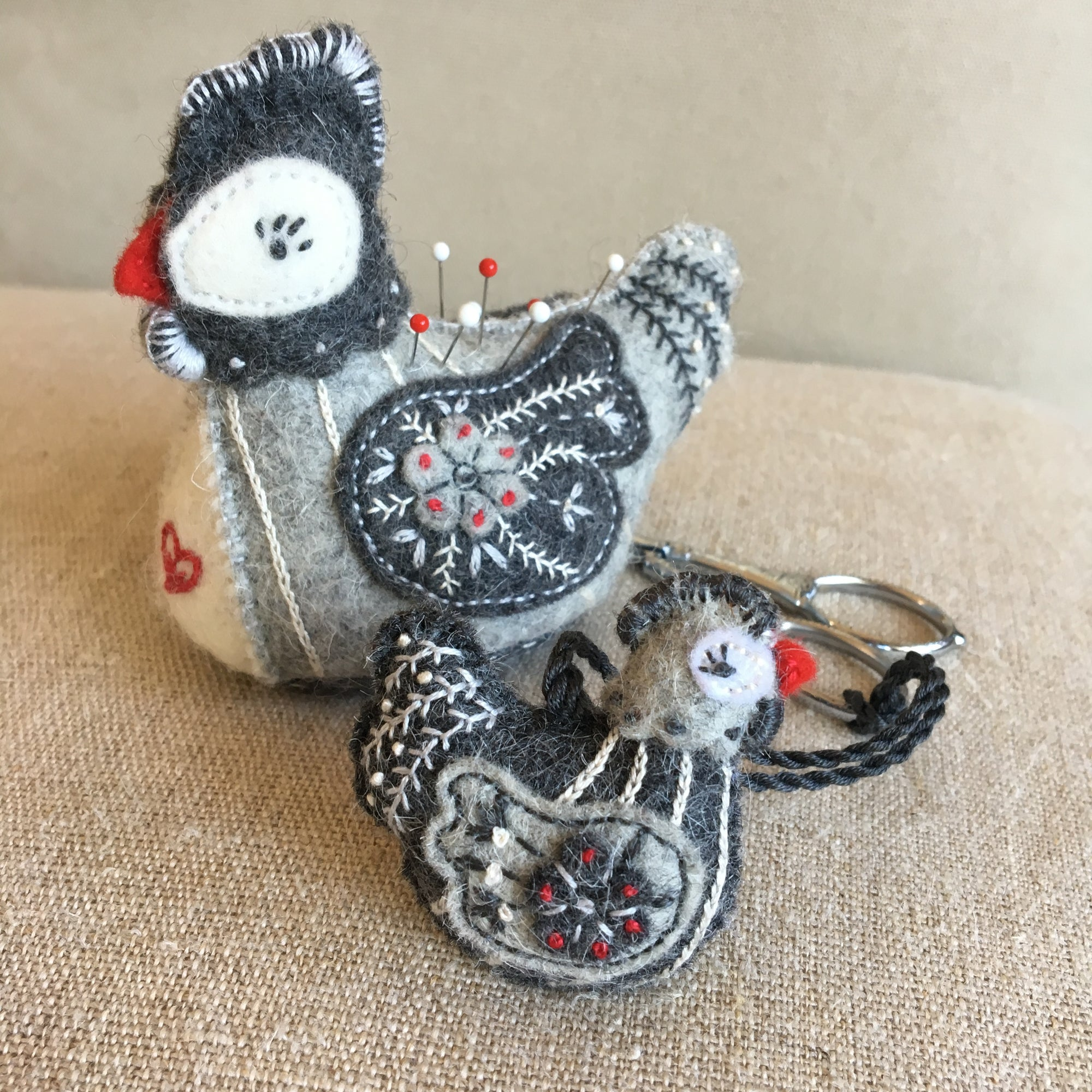 Pernilla le Poulet Miniatures (Pattern Only)